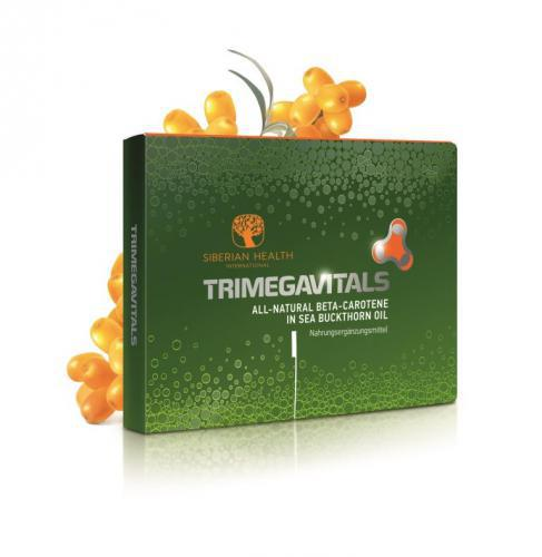 Suplement diety Trimegavitals Beta-carotene in Sea Buckthorn oil 500060