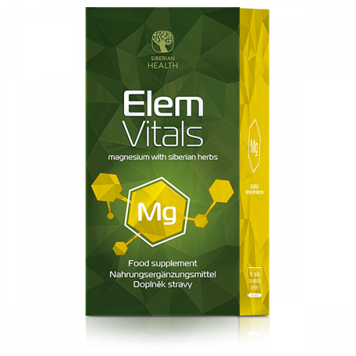 Suplement diety ElemVitals Magnesium with siberian herbs 500038
