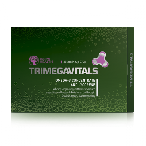 Trimegavitals. Omega-3 concentrate and lycopene 5FP183